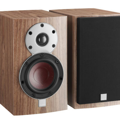 DALI MENUET Walnut bookshelf speaker